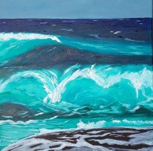 """""""Sea Salt"""" 50x50"""