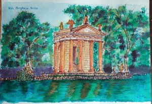 Villa Borghese. Roma series.