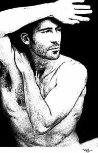 Portrait of Miguel Angel Silvestre