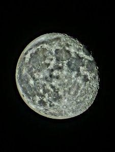 Luna óleo