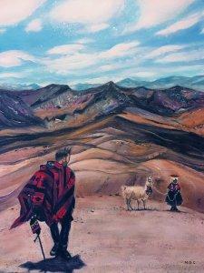 Traveler In Peru