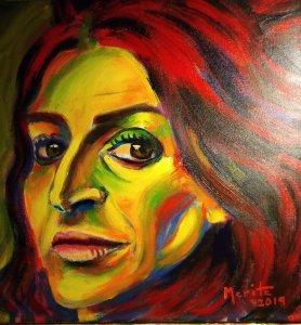 La pintora