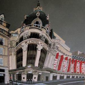 Paris, de'Hôtel Bazar de Ville.
