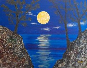 Noche en el mar