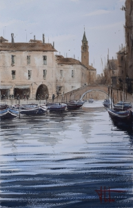 Tortosa_Francisco_Bell Tower Venice_56x38cms.jpg