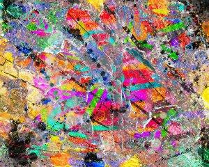 Relieve de colores