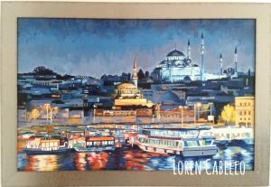 lights on the Bosphorus