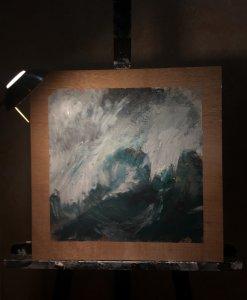 Sea in torment