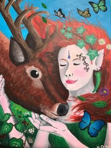 Nymph and deer-1.jpg