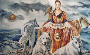 the lady of the wolves