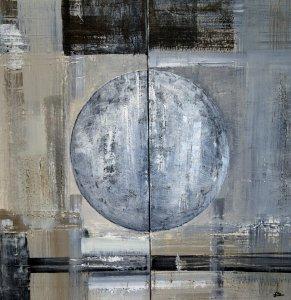 Oráculo de Plata 60 x 60