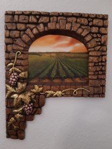 Ventana al viñedo - Window to the vineyard