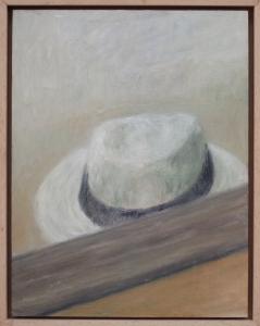 sombrero y espejo