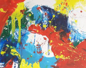 """"""" COLORS AND EMOTIONS 08  """",50x40 cm,  100 euros"""