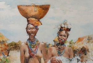 Women in the Omo Valley, Ethiopia