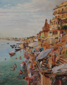 Varanasi  49x63  2001.JPG