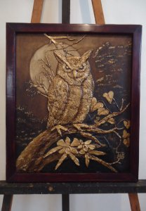 Artwork in Oil (Owl)