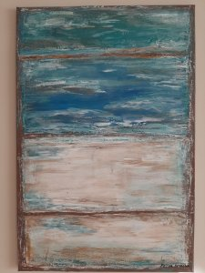 Mediterraneo, 90x60 cm, BLACK FRIDAY -20%, 112 euros