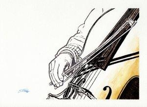 Tocando el violonchelo ii