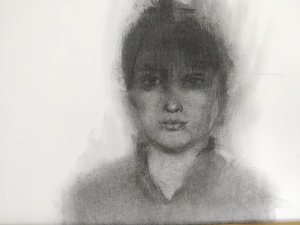 Retrato carboncillo /charcoal potrait