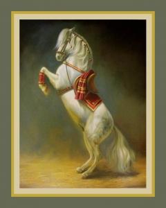 SPANISH HORSE '' LEVADA ''