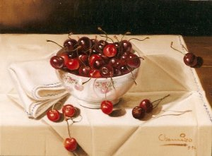 CUP WITH CHERRIES 2