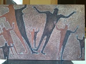 Figuras rupestres.