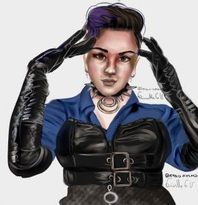 Jazmin portrait