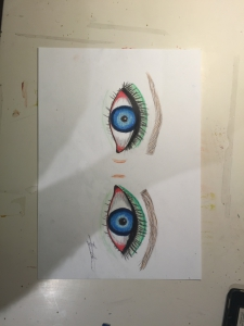 Aphrodite's eyes