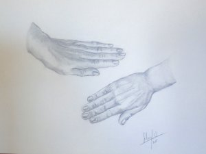 """From the series """"hands"""" 4"""