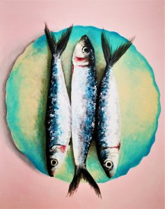 """A Plate of Sardines"""