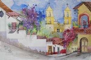 Taxco desde el Monte