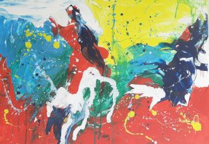 """""""COLORS AND EMOTIONS 04"""" , 70x50 cm, 120 euros"""