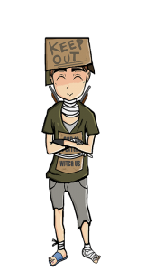 Tramp illustration