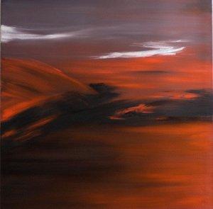 FIRE (II) - Oil on canvas 80x80 2010.jpg