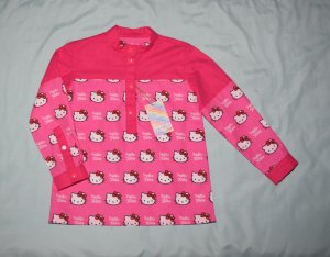 Shirts for girls with Mao collar