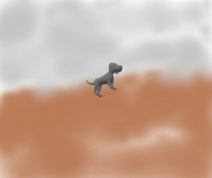 Goya's Dog of the XNUMXst Century