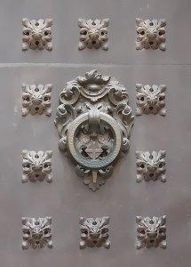 Ornaments (detail Ciutat Vella door in Barcelona)