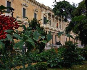 Madrid, jardines del Museo Arqueológico