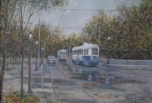 No. 18 38 Streetcar in Retirement x 55 cm.JPG