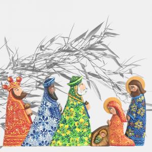 Nacimiento de Navidad Matagalpa
