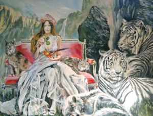 ANTONIA AND TIGERS