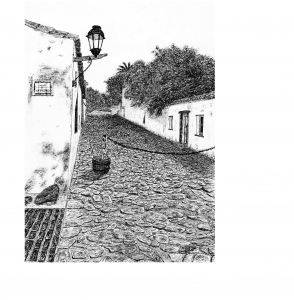 1- Street of Sighs. Colonia del Sacramento (UY) # 90 # .jpg