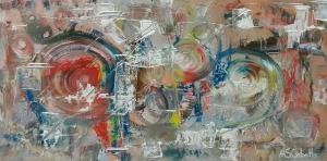 Abstracto con blanco