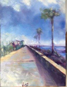 palm trees in Cádiz