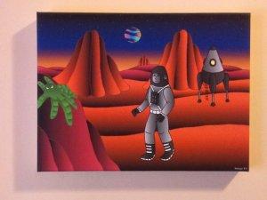 Lienzo Explorador planetario