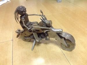 Walking motorcycle