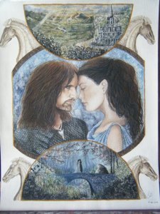 The Lord of the rings - Arwen and Aragorn