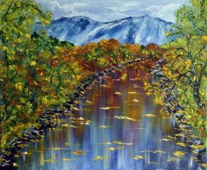 Rio Gandara autumn