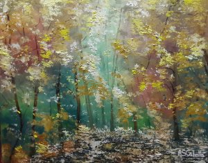 The forest in autumn